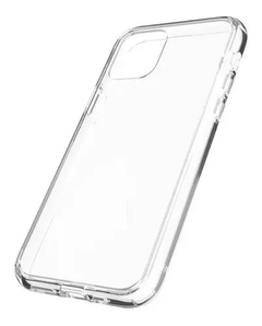 CAPINHA IPHONE 12 PRO MAX - SILICONE CLEAR TRANSPARENTE