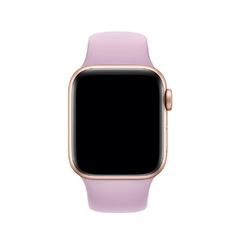 PULSEIRA APPLE WATCH 42/44MM - SILICONE LILÁS - comprar online