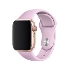 PULSEIRA APPLE WATCH 42/44MM - SILICONE LILÁS