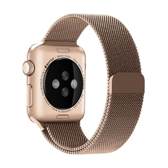 PULSEIRA APPLE WATCH 42/44MM - MILANESE ROSE na internet