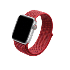 PULSEIRA APPLE WATCH 42/44MM - NYLON CEREJA