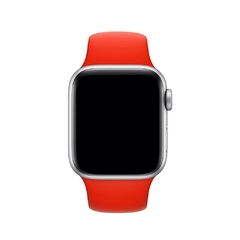 PULSEIRA APPLE WATCH 42/44MM - SILICONE VERMELHA - comprar online