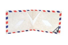 Carteira de papel Tyvek® - Monkey Wallets® - Airmail na internet