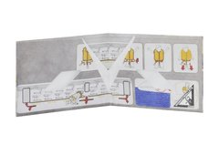 Tyvek® Wallets - Monkey Wallets® - Plane on internet