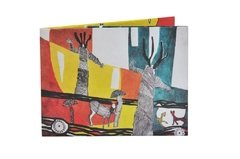 Carteiras de Papel Tyvek® - Monkey Wallets® - Bosque