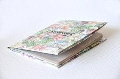 Passport Cover - Stamps - Monkey Wallets ®