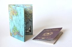 Passport Case - Map - buy online