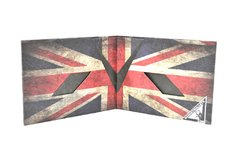 Billetera de papel Tyvek® - by Monkey Wallets® - Union Jack en internet