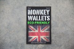 Imagen de Billetera de papel Tyvek® - by Monkey Wallets® - Union Jack