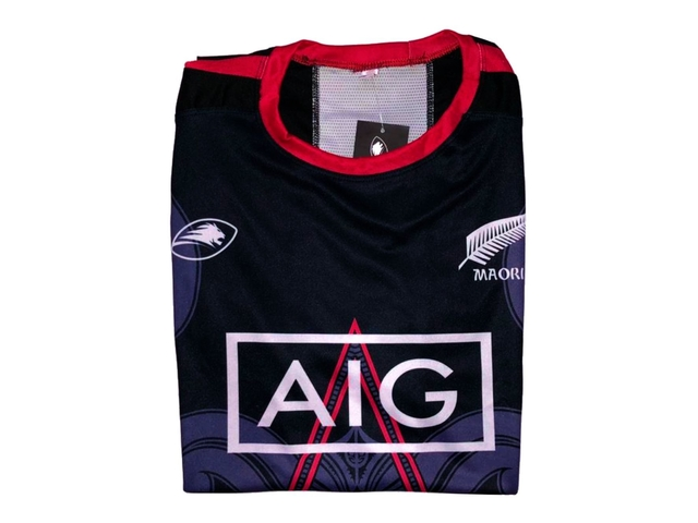 Remera running LIONS XV All Blacks dark - tienda online