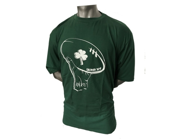 Remera talle especial  LIONS XV Hand IRFU