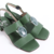 Isis- Green Sandal - online store