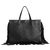 Milano Tote Bag in Black and Sand color chaguar on internet