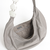 Banana grey Handbag with handmade strip in metal and onix stone on internet