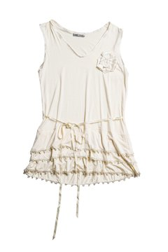 Mini vestido remera con lazo Art  410