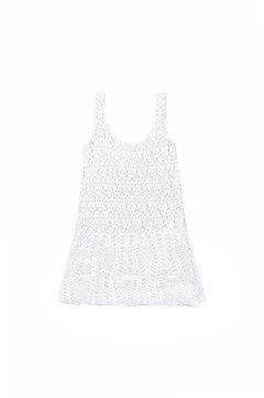 VESTIDO CORTO CROCHET PARTY ART 2213 - Agostina Bianchi