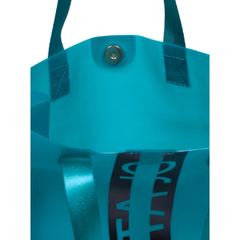 QUITO-SHOPPING BAG EFECTO SILICONADO Y LOGO EN FRENTE (CJU10889) en internet