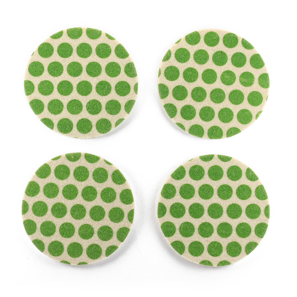 Coasters Dots Green on internet