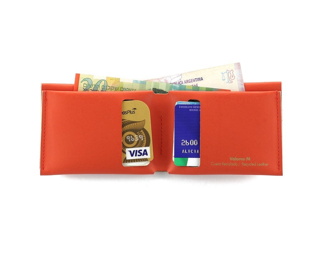 M Wallet Solid Red