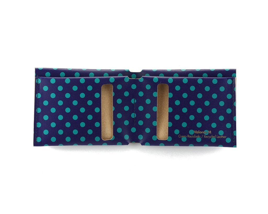 M Wallet Dots Green - buy online