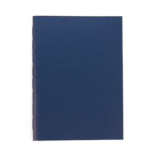 A5 Notebook Solid Blue