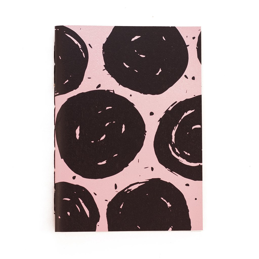 A5 Notebook Dots Pink on internet