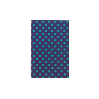 A6 Notebook Dots Green