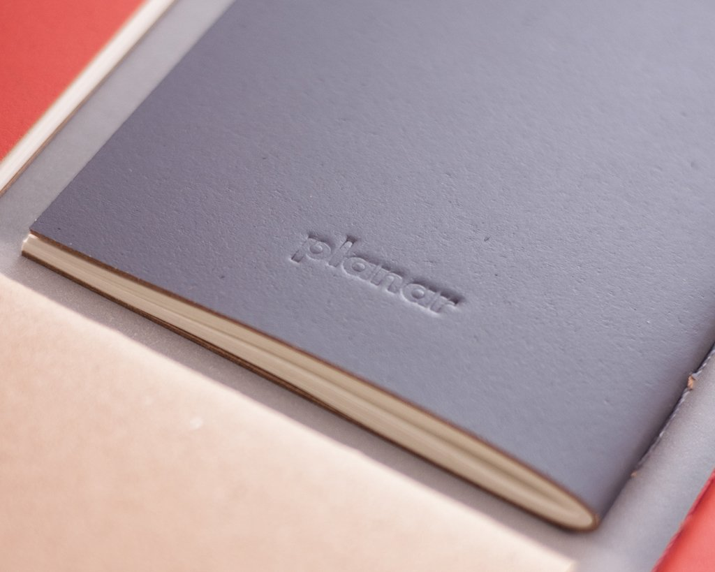 A6 Notebook Solid Red