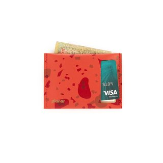 S Wallet Celebration Red