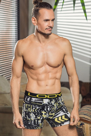 Boxer Lody Men estampado Street