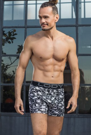 Boxer Lody Men Estampado Sharks