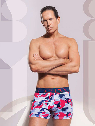 Boxer Hombre Lody Men Estampado Abstract