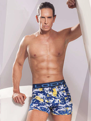 Boxer Hombre Lody Men Estampado Splashed