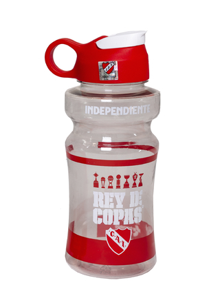 Botella Independiente deportiva 700ml licencia oficial