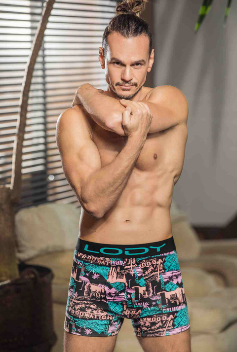 Boxer Hombre Lody Men Estampado Hollywood