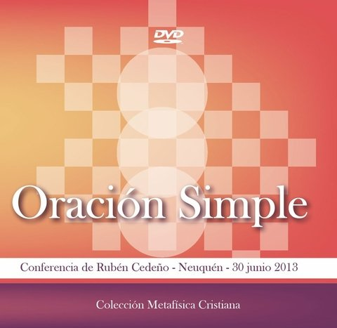 DVD Oración Simple - Conferencia | Rubén Cedeño