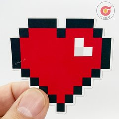 Sticker Love Pixel