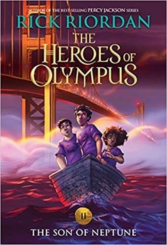 The Heroes of Olympus, Book Two The Son of Neptune Paperback (new cover) - comprar online