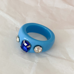 Anillo Get It Right - azul