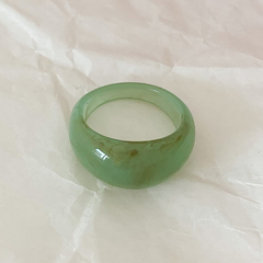 Anillo As I Am - verde