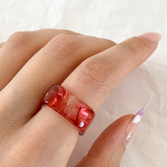 Anillo Before The Storm - rojo - comprar online