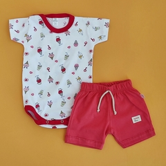 Conjunto body y short