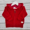 Campera plush rojo