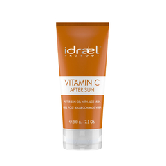Vitamin C After Sun Gel Post Solar Aloe Vera 200gr Idraet