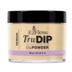 Polvo Trudip Tall Blonde x 56 gr - Color ocre beige nude - Sistema Dipping - Ezflow - Origen USA - Art. 67372