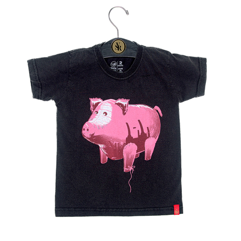Camiseta VSR Flying Pig - Infantil