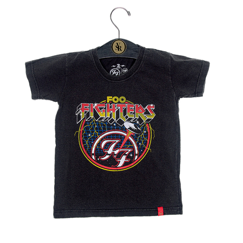 Camiseta VSR Foo Fighters Seal - Infantil