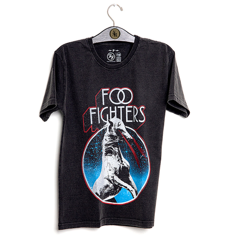 Camiseta VSR Foo Fighters Space Horse Baseball