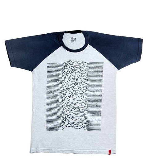 Camiseta VSR Unknown Pleasures - Raglan