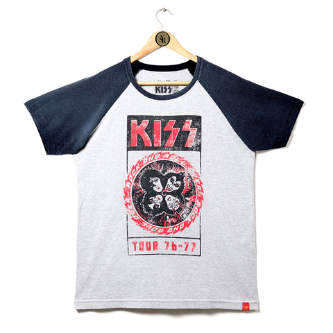 Camiseta VSR Kiss Tour 76-77
